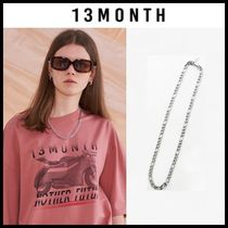 ☆13MONTH☆ ネックレス SLIM CHAIN NECKLACE SILVER