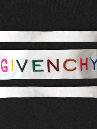 GIVENCHY Tシャツ・カットソー 【19SS NEW】GIVENCHY_women/特大刺繍入りTシャツGIVENCHY PARIS(6)