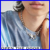 OPEN THE DOOR   OTD-ball chain choker necklace  / 追跡付