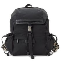 Stella McCartney	STELLA LOGO BACKPACK	557858	W8091	1063BLACK