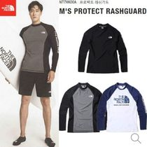THE NORTH FACE★新作 M'S PROTECT RASHGUARD NT7XK00