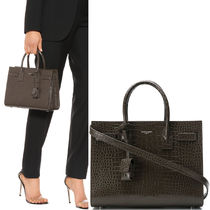 19SS WSL1420 BABY SAC DE JOUR IN CROCO EMBOSSED LEATHER