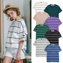 ★WV PROJECT★Tシャツ Tucson striped short-sleeved shirt 9色