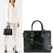 19SS WSL1421 BABY SAC DE JOUR IN CROCO EMBOSSED LEATHER