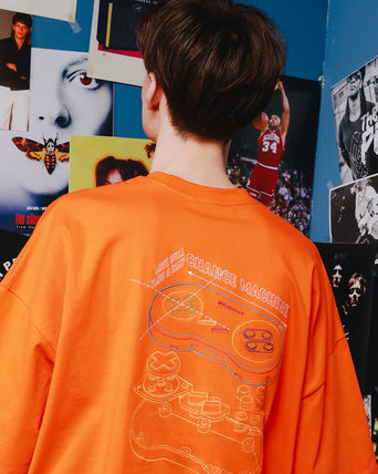 WV PROJECT Tシャツ・カットソー WV PROJECT☆LOOSE FIT CONTROLLER T-SHIRTS / YRST7243 4COLOR(9)