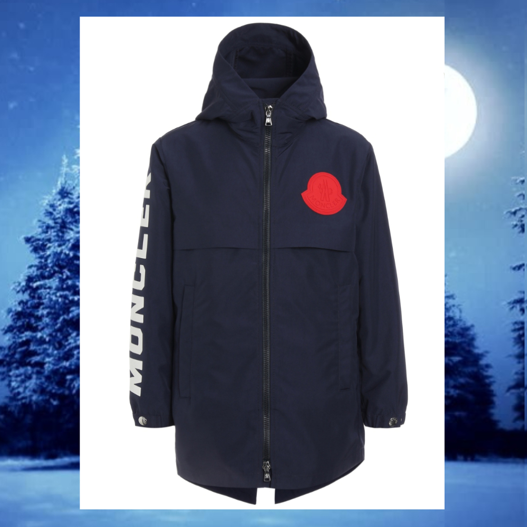 ☆MONCLER☆ 袖ロゴ×ビッグロゴ・ボーイズGranduc♪ 12A/14A (MONCLER/キッズアウター) 42564157