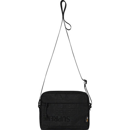 Supreme ショルダーバッグ ★  Supreme  ★  SS19   Week1  ★  Shoulder Bag  ★   Black(4)