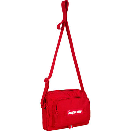 Supreme ショルダーバッグ ★  Supreme  ★  SS19   Week1  ★  Shoulder Bag  ★   Black(8)