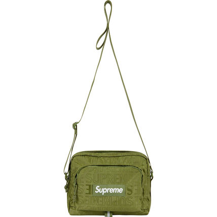 Supreme ショルダーバッグ ★  Supreme  ★  SS19   Week1  ★  Shoulder Bag  ★   Black(14)