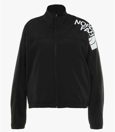 THE NORTH FACE アウターその他 限定 *THE NORTH FACE* TRAIN N LOGO ロゴジャケット/ブラック(3)