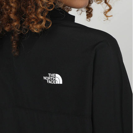 THE NORTH FACE アウターその他 限定 *THE NORTH FACE* TRAIN N LOGO ロゴジャケット/ブラック(7)