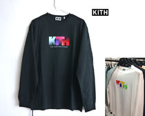 KITH Sight And Sound L/S Tee ロゴ Tee 店舗限定商品