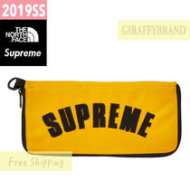 19SS SUPREME / The North Face Arc Logo Organizer Zip Wallet