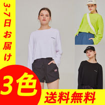 ANOTHER A(アナザーエー) Tシャツ・カットソー 【ANOTHER A】◆クロップドTシャツ◆韓国ブランド/ 関税・送料込