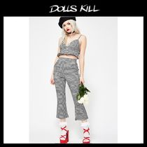 関税/送料込*DOLLS KILL*PARIS VACATION GINGHAM SET