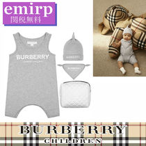 BURBERRY★BABY★ボディースーツ★ビブ&ハット3PIECEセット