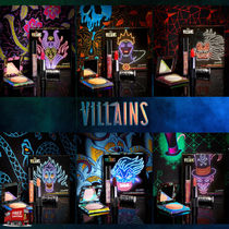 Colourpop☆限定☆DISNEY VILLAINS COLLECTION 3点セット 6種