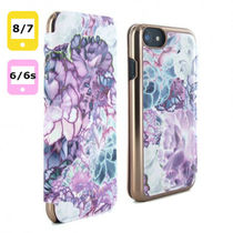 【TED BAKER】 BRONTAY iPhone 8 / 7 / 6S / 6 ケース パープル