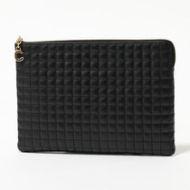 CELINE 10B81 3BFL 38NO Pouch ポーチ クラッチバッグ Black