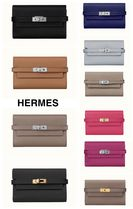 【HERMES】★Portefeuille Kelly depliant medium