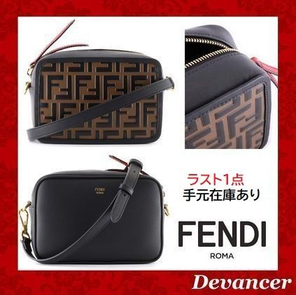 ◆◇◆ 送関込  【FENDI】 Mini Camera Bag ◆◇◆