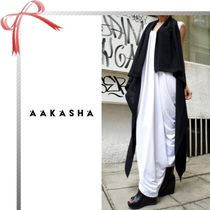 ☆Aakasha☆Loose Black vest Top ジレ ブラック