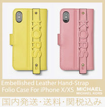 80a00667493e2c 【セール/国内発送】Embellished Leather HandStrap iPhone X/XS
