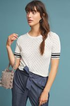 Sporty Pointelle Sweater Tee 日本未入荷【Anthropologie】