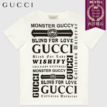 【正規品保証】GUCCI★19春夏★KID´S T-SHIRT GUCCI LOGOMANIA