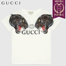 【正規品保証】GUCCI★19春夏★CHILDREN´S T-SHIRT W PANTHERS