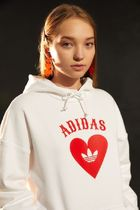 Urban Outfitters☆adidas Vday限定♪ ハートロゴパーカ