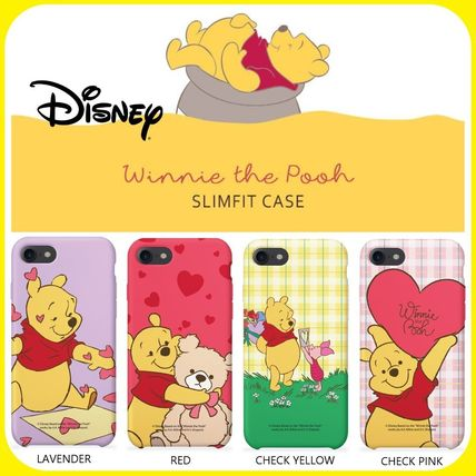 Disney スマホケース・テックアクセサリー [ DISNEY ] Winnie the Pooh Heart SLIM FIT IPHONE CASE