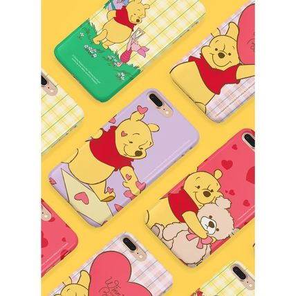 Disney スマホケース・テックアクセサリー [ DISNEY ] Winnie the Pooh Heart SLIM FIT IPHONE CASE(2)