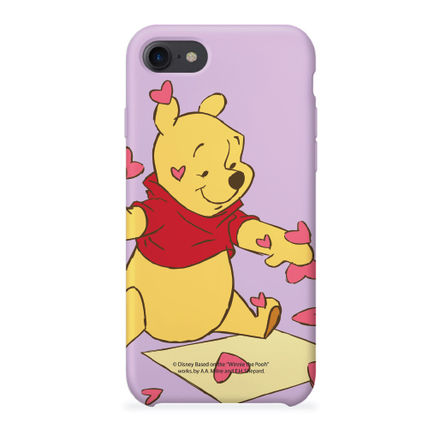 Disney スマホケース・テックアクセサリー [ DISNEY ] Winnie the Pooh Heart SLIM FIT IPHONE CASE(3)
