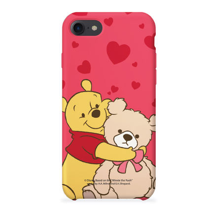 Disney スマホケース・テックアクセサリー [ DISNEY ] Winnie the Pooh Heart SLIM FIT IPHONE CASE(4)