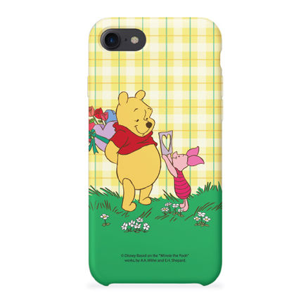 Disney スマホケース・テックアクセサリー [ DISNEY ] Winnie the Pooh Heart SLIM FIT IPHONE CASE(5)