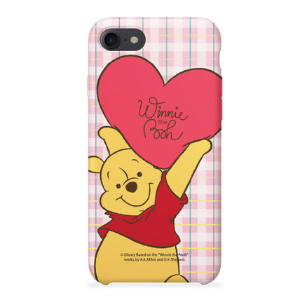 Disney スマホケース・テックアクセサリー [ DISNEY ] Winnie the Pooh Heart SLIM FIT IPHONE CASE(6)