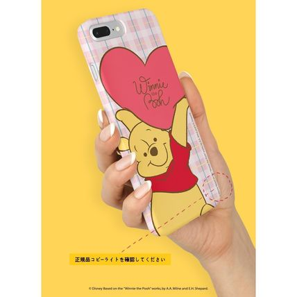 Disney スマホケース・テックアクセサリー [ DISNEY ] Winnie the Pooh Heart SLIM FIT IPHONE CASE(7)