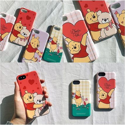 Disney スマホケース・テックアクセサリー [ DISNEY ] Winnie the Pooh Heart SLIM FIT IPHONE CASE(8)