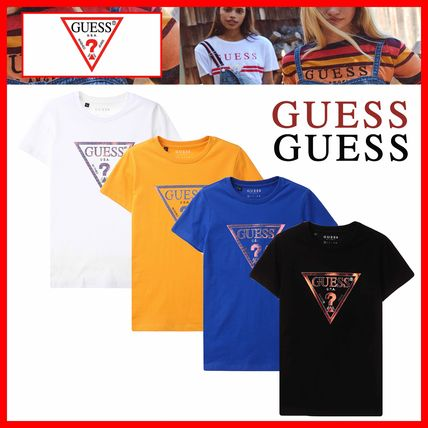 Guess Tシャツ・カットソー ☆韓国の人気☆【GUESS】☆GUESS ▽ 半袖Tシャツ☆4色☆
