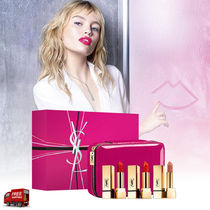 YSL☆限定☆ポーチ付☆ROUGE PUR COUTURE LIPSTICK 3本セット