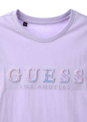 Guess Tシャツ・カットソー ☆韓国の人気☆【GUESS】☆ホログラム GUESS 半袖Tシャツ☆4色☆(8)