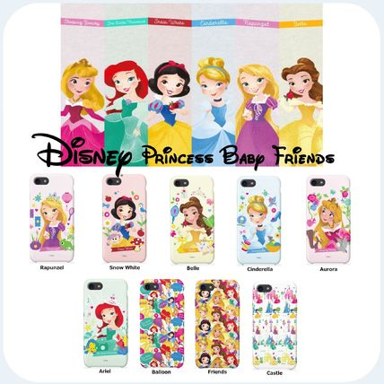 Disney スマホケース・テックアクセサリー [ DISNEY ] Disney Princess Baby Friends SLIM FIT IPHONE CASE