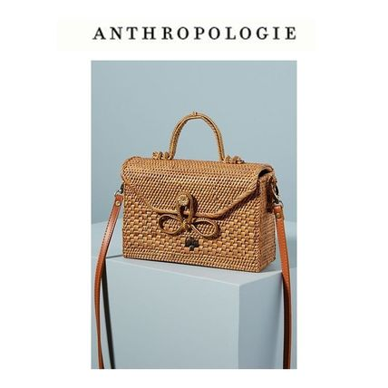【Anthropologie】Bailey Rattanカゴバック