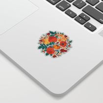 Vintage flower garden Sticker