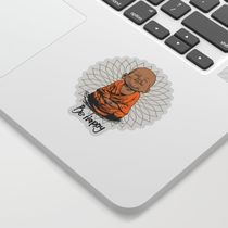 Be Happy Little Buddha Sticker