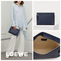 【LOEWE】エレガント♪《T-Pouch》クラッチバッグ◆安心追跡付!