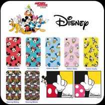[ DISNEY ] Mickey Mouse&Friends pattern SLIM FIT IPHONE CASE