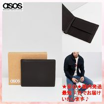 【ASOS】Leather Wallet In Brown With Internal Coin Purse