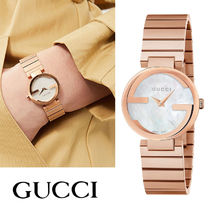 ★送料・関税込み★ GUCCI G-TIMELESS INTERLOCKING 腕時計
